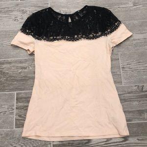 Black Lace shirt blouse